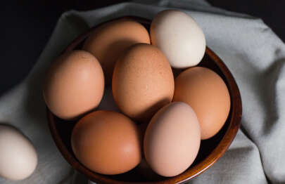 Hühner Eier