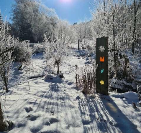 Heubaden bei Kälte