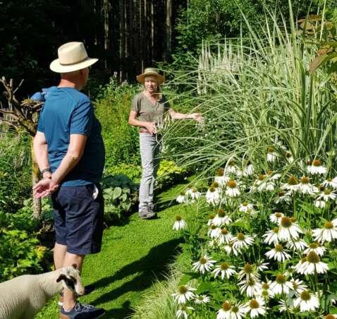 letzte Gartenführung 2021 am 28. und 29. August 2021